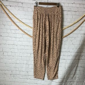 Forever 21 Tan with Black Speckles Pants